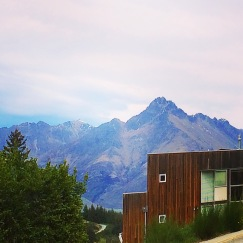 View from my living room in Queenstown
